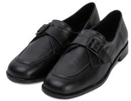 Carney buckle loafers
