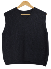 Richlamswool Twisted Vest