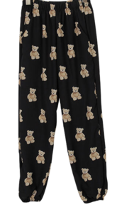 Teddy bear-jogger pants
