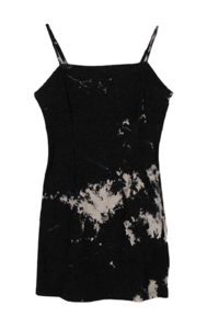 Tie-dye alling mini Dress