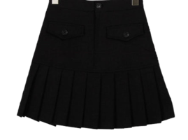 Pleated anime mini skirt