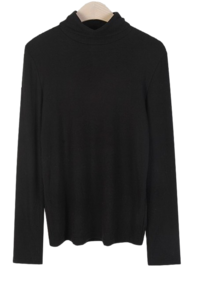 Cantata Ribbed Turtleneck T