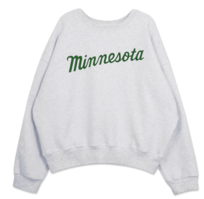 'MINNESOTA' Loose-fit Sweatshirt 長袖上衣