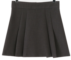 St pleats mini skirt