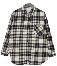 Check Fleece Standard shirt