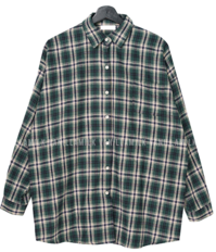 Luca Boxy Fit Check shirt