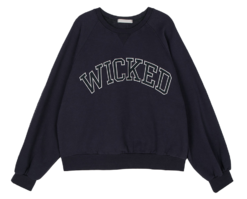 Wicked Fleece-lined crew neck sweatshirt