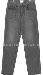 Pio straight slim denim trousers