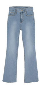 Plain Flared jeans