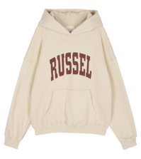Russel Fleece-lined hooded sweatshirt