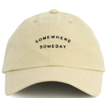 Somewhere lettering cap