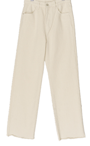 Achu cotton straight wide trousers