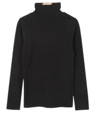 Carol Angora Turtleneck T 長袖上衣