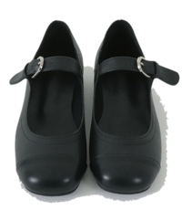 Belted Mary Jane flat shoes