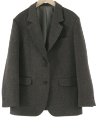 Classic single wool jacket 夾克外套