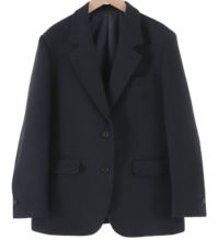 Classic single wool jacket
