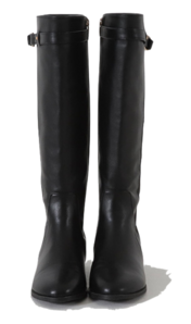 Belted Riding Long Boots