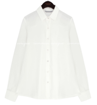 Satiny Button-Down Shirt