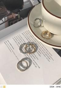 FORNARD LAYERED RING 3 SET