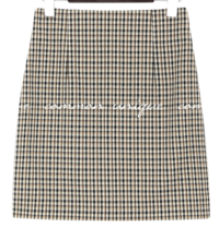 SAINT CHECK H LINE SKIRT - 2 TYPE