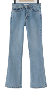 Away Slim Flared Denim Pants