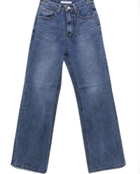 Long Run High Semi-Wide Jeans