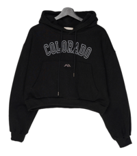 Colorado Crop Fleece-lined Hood