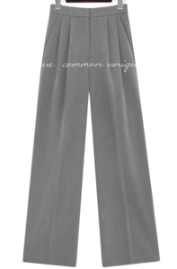 RUKONA PINTUCK WIDE SLACKS