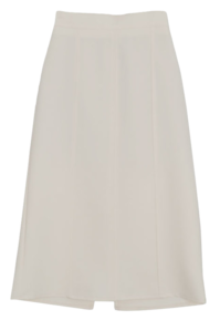 Millo Split long skirt