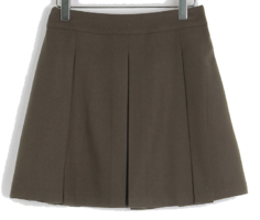 Lie banding pleated skirt