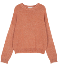 Mixed Color Crew Neck Knitwear