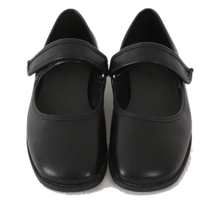 Velcro Mary Jane Flat Shoes