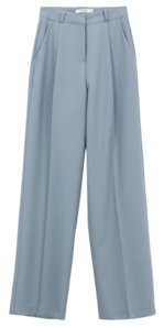 Spring Pintuck Slacks; Basic