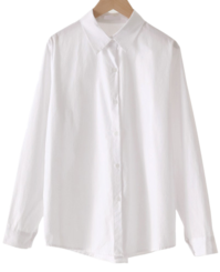 Romance Basic Cotton Shirt
