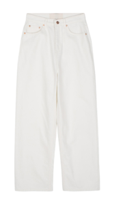 Recycled cotton wide trousers 長褲