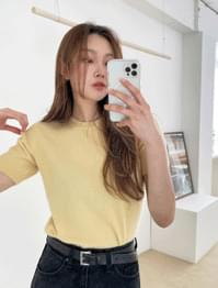 Connie Pastel Short Sleeve Knitwear