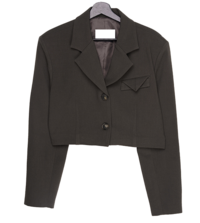 Hanker Chief Point Crop Jacket
