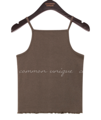 LINU COTTON WAVE SLEEVELESS