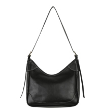 Leading square shoulder bag