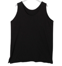 Layered Split Sleeveless T-shirt