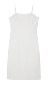 Four-in-one lace slip midi dress 半身裙