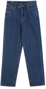 Foren Wide Denim PT♥ Fleece-lined