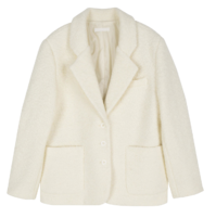 London Terry Wool Short Coat