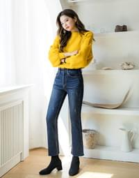 World Comfortable Jung Blue Flared Jeans