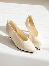 Feeling Middle Heel Pumps 5cm