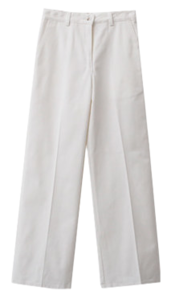 Cotton Slim Wide Pants