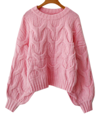Puff Pop Twisted Knitwear