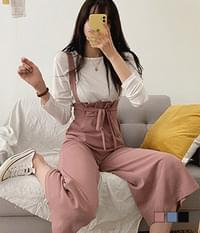 Choi Ae-Tam Overall Suspenders Pants