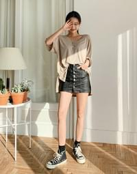 Chalang Loose-fit Unfooted T-shirt