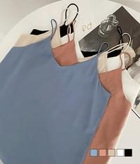 Silket Basic Slip Strap Sleeveless